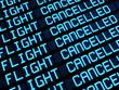 Cancelled Flights Departures Board - 44026554