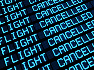 Cancelled Flights Departures Board