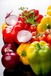 Ingredienti per peperonata