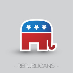 The symbol of  the Republican party of the USA