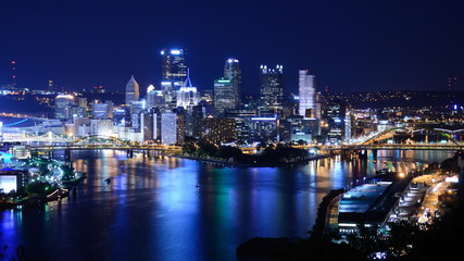 Downtown Pittsburgh, Pennsylvania, USA