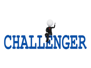 Sitting Over a Challenge to Achieve Success