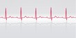 Sinus Rhythm. ECG With Grid, R...