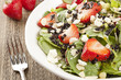 Fresh Homemade Strawberry Spinach Salad