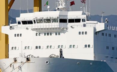 cargo ship: