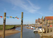 The harbour at Blakeney on the North Norfolk coast
