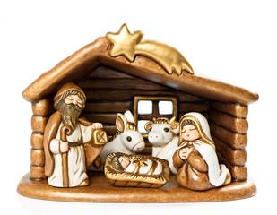 Jesus Christ child, Mary and Josef
