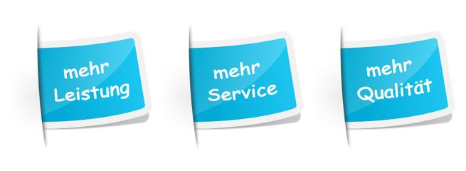 Schilder Service und Qualität