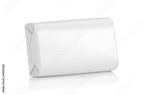 White wrap box package