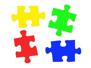 Jigsaw Illustrations