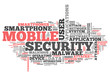 "Word Cloud ""Mobile Security"""