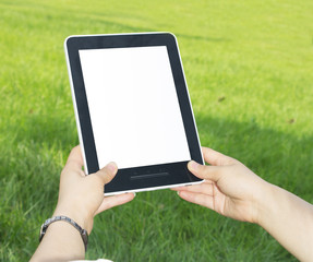 Tablet PC hand