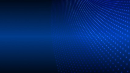 Abstract blue animated background