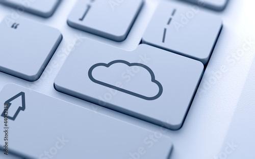 Cloud icon button