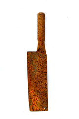 Big knife with rust