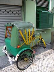 Cyclo rickshaw, Macau, China