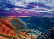 canvas print picture - Super Pit Kalgoorlie Western Australia