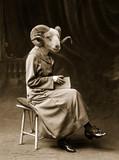 La femme bélier - Fine Art prints