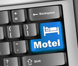 "Keyboard Illustration ""Motel"""