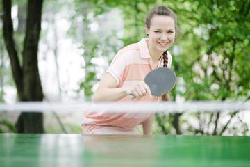 Tischtennis in der Freizeit