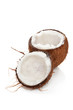 Tropical background. Coconut isolated.