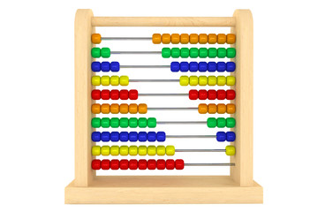 Toy wooden abacus