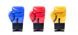 boxing gloves in different colors