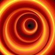 Hypnotic Virtual Tunnel-Vector