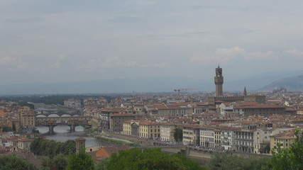 The town hall of Florence, Italy