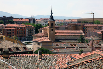 Rooftops of Segovia
