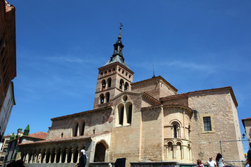 Ancient Church in Segovia