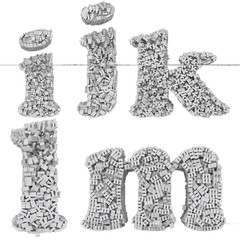 3d small letter