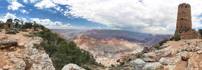 Grand Canyon - Desert View - Arizona - USA - Panoramique