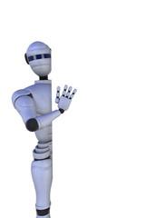 3D illustration robot