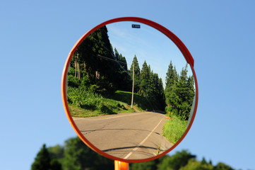 Road safety mirror-1