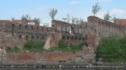 Ruins in Gdansk, Poland