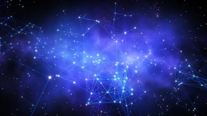 Network of stars.