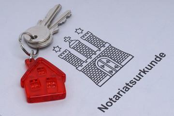 Schlüsselübergabe-Kaufvertrag