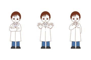 禁止する医者