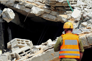 Search and Rescue Through Building Rubble after a Disaster