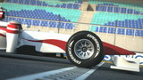 F1 race car  crossing finish line - high quality 3d animation