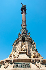 Columbus Monument, Barcelona.