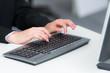 tastatur bedienen
