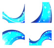 Abstract water elements