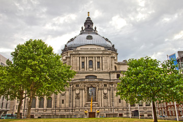 Methodist Central Hall in London, UK