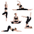fitness poses