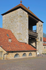 das Deutsche Weintor in Schweigen-Rechtenbach
