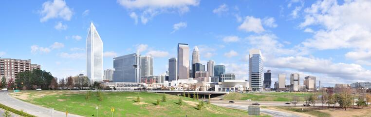 Charlotte, North Carolina Panorama