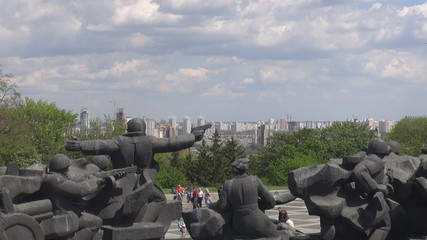 "Statue of Museum of the ""Great Patriotic War"" , Kiev, Ukraine"