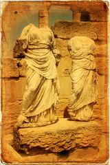 Statue di Demetra e Kore, Cirene, Libia